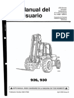 Manual de Usuario Jcb 926 o 930