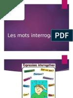 2eme Trimestre Les Mots Interrogatifs 2016 5eme