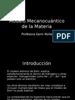 Modelo Mecanico Cuantico
