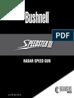 101921 Speedster III Manual