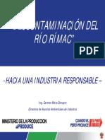 Decontaminacion Del Rio Rimac