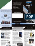 99207 Gasoline Additive Brochure Spanish