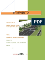 Diseño de Pavimento