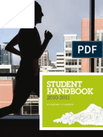 Portland State University Student Handbook & Academic Planner 2010-2011