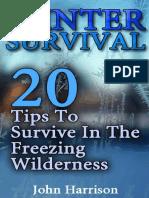 Winter Survival_ 20 Tips to Sur - John Harrison