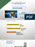 Tema 1 -Concepto, historia _Psicología