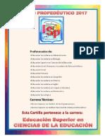 Ciencias de La Educacion 2017 Propedeutic
