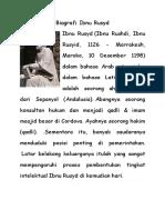 Biografi Ibnu Rusyd