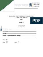 Mate.Info.Ro.2931 Evaluarea Nationala, Clasa a II-a, Modelul II, Matematica.pdf
