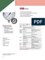 100 Series ABS & Steel Case Gauges