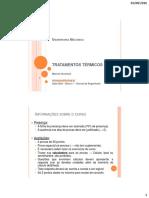 1-Introduçao Tratamentos Térmicos