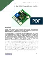 ACS709 75A Current Sensor Module