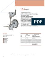 100 Series Bimetal Thermometers