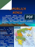 ATHOS - Gradina Maicii Domnului