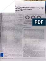 Badanie Stanu i Naprawa Kolektora Kanalizacyjnego Wykonanego Metodą Przeciskania Pod Torami Kolejowymi - C. Madryas, L. Wysocki