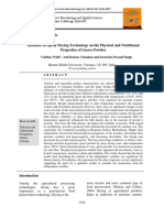 Influence of Spray Drying Technology on the Physical and Nutritional  Properties of Guava Powder