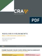 Rozvoj DVB-T2 vysílání bez mýtů