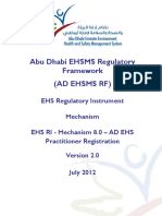 8.0 - AD EHS Practitioner Registration Mechanism v5 04June 2012