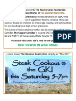 Kearny Cares Foundation Steak Dinner UPDATED