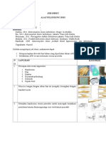 Job Sheet Apd