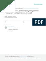 13  superadditivity in multisensory integration