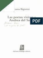 Las Poetas Visitan a Andrea Del Sarto