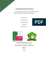 Case Cover Bronkopneumonia