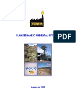 Plan Manejo Ambiental Integral