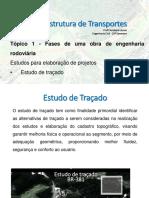 Aula 02 - Estudo de Traçado - Topográfico - Geotécnico