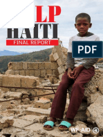 Haiti Appeal Report