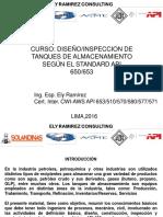 Dia 1 Lima Diseño de Tanques de Almac