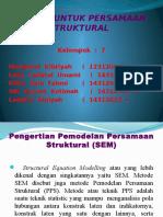 Ppt Regresi Untuk Persamaan Struktural
