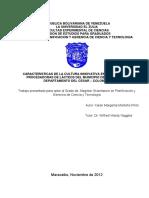 CARACTERISTICAS DE LA CULTURA INNOVATIVA EN LAS EMPRESAS PROCESADORAS DE LÁCTEOS DEL MUNICIPIO DE VALLEDUPAR DEPARTAMENTO DEL CESAR – COLOMBIA
