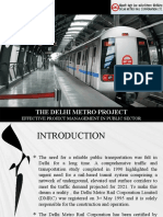 Delhi Metro Case Study Ppt (1)