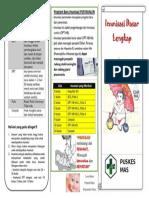 Leaflet Imunisasi Dasar