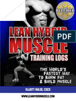 Hybrid Training Log