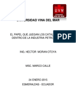 TAREA # 1 - Catalizadores Industria Petroqui. H.moran