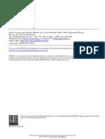 Baynes - Review of Social Action and Human Nature by Axel Honneth y Hans Joas