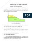 Modelling and Analysis of a Slope by Slopew