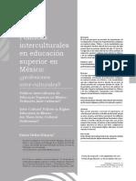 Reflexiion Bes Osbre La Pedagogia y La Interculturalidad