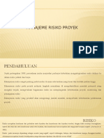 Bab 13 Manajemen Risiko Proyek Rev