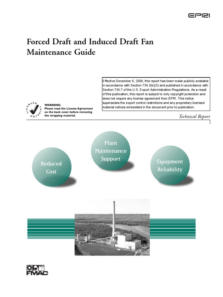 Forced Draft Fan : Forced draft and induced fan mechanical