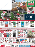Seright's Ace Hardware Outdoor Power Sale