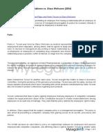 Duncan Association of Detailman-Ptgwo and Pedro Tecson vs Glaxo Wellcome