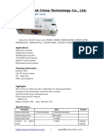 E-link RF Optical Transceiver Datasheet_V1.0
