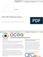 Software - OECG - GRC Maturity Survey - Global - 2017