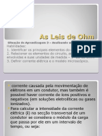 As Leis de Ohm