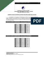 Cosanpa 01 2013 Gabarito Oficial Definitivo Da Prova Objetiva de Multipla Escolha