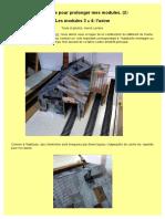 Une usine pour prolonger mes modules HO (N°2). Modules 3 et 4. Par Hervé Leclère