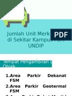 Jumlah Unit Merk Mobil Di Sekitar Kampus FSM
